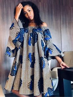 African Fashion Source by lauceab Fashion dresses Short African Dresses, Short Gowns, Latest African Fashion Dresses, African Print Dresses, African Print Fashion, Ankara Fashion, Africa Fashion, African Prints, Modern African Fashion