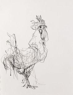 Drawings - Susan Siegel More - - Kunst-themen - Art Sketches Ink Drawings, Animal Drawings, Drawing Sketches, Drawing Ideas, Contour Drawings, Drawing Faces, Sketching, Contour Line Drawing, Charcoal Drawings