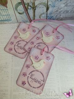 GiftTags  Handmade GiftTags by LilsCardCraft on Etsy,