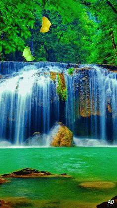 Волшебный водопад...