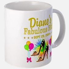 50TH BIRTHDAY Mug Dazzle, sparkle and shine with our personalized 50th birthday gifts. http://www.zazzle.com/jlpbirthday/gifts?cg=196128245923858498&rf=238246180177746410  #50yearsold #50thbirthday #50thbirthdaygift #50thbirthdayideas #Happy50th #50thbirthdayparty
