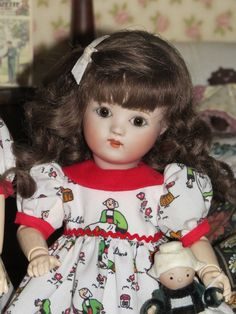 Loulotte Bleuette Friend Becassine Dress | eBay