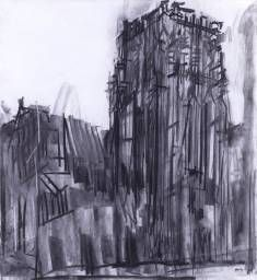 Dennis Creffield 'Durham: The Central Tower', 1987 © Dennis Creffield