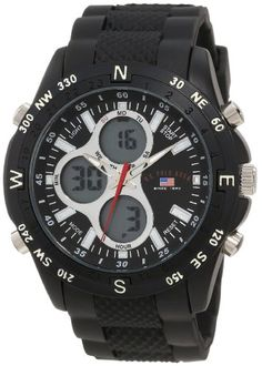 U.S. Polo Assn. Sport Men's US9140 Black Rubber Strap Analog Digital Watch U.S. Polo Assn. Sport,http://www.amazon.com/dp/B008O0VP34/ref=cm_sw_r_pi_dp_TAubtb0BXVW1HHMG