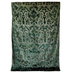 Fortuny Large Art Deco Velvet Wall Hanging w/ Provenance | From a collection of rare vintage textiles and quilts at https://www.1stdibs.com/fashion/ephemera/textiles-quilts/