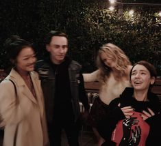 Amy Okuda, Keir Gilchrist, Jenna Boyd and Brigette Lundy-Paine Atypical, Brigette Lundy Paine, Netflix, Comedy Actors, Okuda, Series Movies, Powerful Women, Celebrity Crush, Pretty People