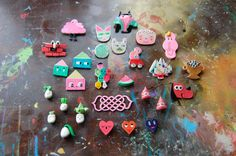 brooches by ginette pomette