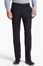 John Varvatos Star USA  'Astor' Flat Front Wool Trousers