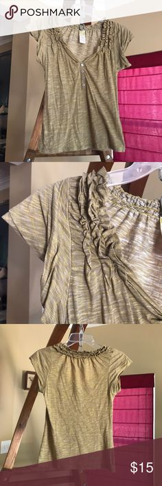 Anthropologie C. Keer Tee size XS 濾 Size XS. C. Keer from Anthropologie. Material is 100% cotton. 濾 Anthropologie Tops Blouses