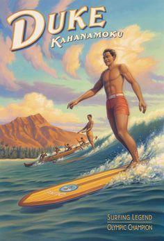 Inspiratie gebruik surfplank.