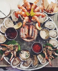 Cold seafood platter at the Highlands Bar and Grill in Birmingham, Alabama