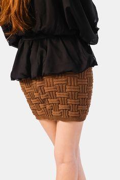Online Women's Fashion - Kiku Boutique - Short Knit Skirt AUD$36 Knit Skirt, Womens Fashion Online, Aud, Product Launch, Women's Fashion, Boutique, Knitting, Skirts, Collection