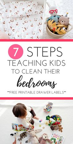 7 Steps Teaching Kids to Clean Their Bedrooms independently. Raise responsible kids by having them do chores. Cute Dorm Rooms, Cool Rooms, Parenting Advice, Kids And Parenting, Parenting Styles, Peaceful Parenting, Parenting Classes, Parenting Quotes, Mindful Parenting