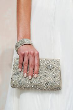 #purse #handbag #sequins #jewels #clutch #bridal #prom #evening #social #angeliquebridalbygina #centralflorida #silver