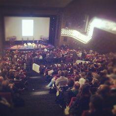 Het Oude Luxor is klaar voor de Big Talk met Ben Wheatley! @mr_wheatley #IFFR - @iffr- #webstagram
