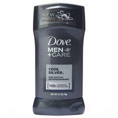 Best New Men's Antiperspirant - Dove Men+Care Cool Silver