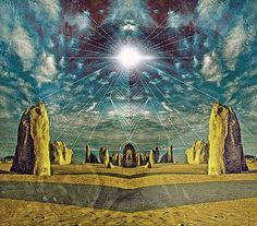 mystic stones / Sacred Geometry <3