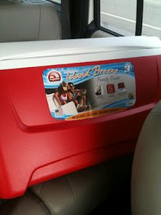 How to Paint a Cooler. A great step by step guide on how to paint a cooler and it look GREAT!