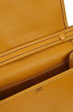 a648c700cc5c For Sale on 1stdibs - Hermes Cognac Leather Gold Horse Crossbody Carryall  Shoulder Flap Bag Leather