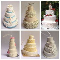 Custom Wedding Cake Replica Ornament by ellicakes on Etsy  #EllicakesOrnaments