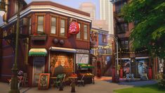 SimFindLove — ichosim: Ichosim's Art District (sfs) Sims 1, Sims 4 Mods, Sims 4 House Design, The Sims 4 Lots, Sims 4 Characters, Sims Building, Sims 4 Build, Sims Community, Sims 4 Cc Finds