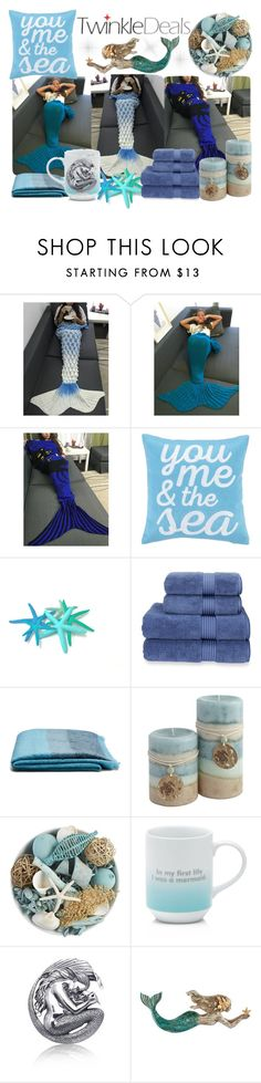 """""""TWINKLEDEALS5"""" by kseniapolanska ❤ liked on Polyvore featuring Peking Handicraft, Christy, Peacock Alley, Pier 1 Imports, Fringe, Bling Jewelry and WALL"""