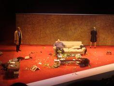 Jeff Daniels, James Gandolfini, Marcia Gay Harden, and Hope Davis - Broadway Production.