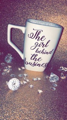 Buy The girl behind the business statement mug. Handmade gifts crafted by disabled entrepreneurs and carers Marketing Merchandise, Web Design, Logo Design, Business Planning, How To Plan, How To Make, Mugs, Handmade Gifts, Dyi