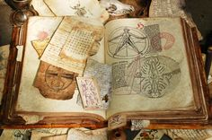 """Plenty of ressources to make your own grimoire, Book of Shadows, Book of Spells. Take a look at the """"Aging Paper"""" section Tarot, Wiccan, Magick, Pagan Witchcraft, Magie Harry Potter, Alphonse Elric, Theme Harry Potter, How To Age Paper, Practical Magic"""