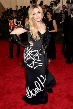 """Madonna in Moschino,  attends the """"China: Through The Looking Glass"""" Costume Institute Benefit Gala at the Metropolitan Museum of Art on May 4, 2015 in New York City.  (Source: Getty)"""