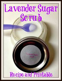 A Time For Seasons: Lavender Sugar Scrub