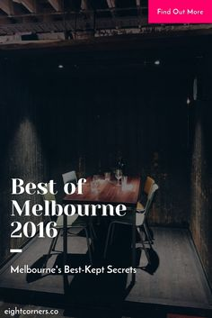 Melbourne's Best-Kept Secrets: A Visitor's Guide to the Best of Melbourne