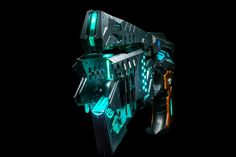 Dominator standard edition from Paralyzer to Eliminator mode, fully mechanized transformation Dragon Ball Z, Zombie Man, Replica Guns, Cyberpunk Anime, Cyberpunk Aesthetic, Sword Design, Future Weapons, Sci Fi Weapons, Psycho Pass