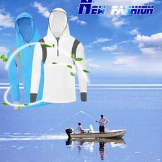 Men's Quick Dry Bamboo Fiber Long Sleeve Breathable Fishing Shirts UV Sunscreen Cloth With Hood Sale - Banggood.com
