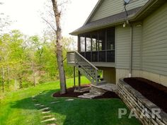 Side Yard and Porch