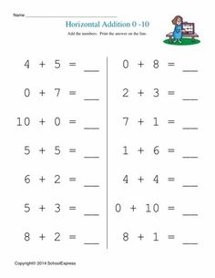 best school maths sheets images  math activities mathematics  math worksheets free addition worksheets story problems horizontal   kindergarten addition
