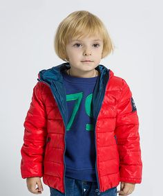 Look what I found on #zulily! Red Flair Down Jacket - Toddler & Boys #zulilyfinds