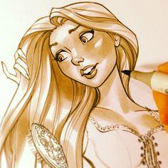 New How To Draw Disney Characters Princesses Scott Campbell Ideas J Scott Campbell, Beyond Wonderland, Comic Book Artists, Comic Artist, Disney Princess Characters, Arte Nerd, Harley Quinn, Dreamworks, 3d Chalk Art