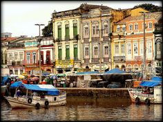Belém, Brazil. Mouth of the Amazon. My old home.