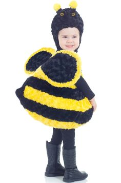 Classic Bee Toddler Costume - Pure Costumes