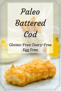 Paleo Battered Cod PIn