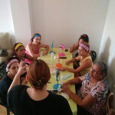 2• beauty party del dia. Encantadora la gente de Fuente Alamo.