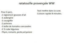 Ratatouille provençale (light)