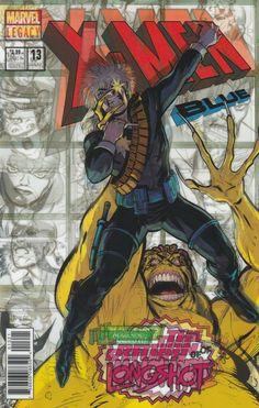 X-Men Blue # 13 Marvel Comics Variant  Lenticular Homage Cover