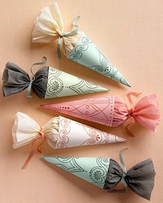 A roundup of 14 wedding craft ideas  http://blogs.babble.com/the-new-home-ec/2012/04/05/14-diy-wedding-craft-ideas/