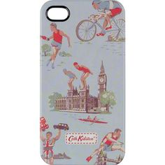 Adorn your iPhone with our quirky Be A Good Sport print and keep it safe from anything nasty in this hardwearing case. The colourful design will make it easy to spot in your handbag and save you from missing any of those important calls!   This product will fit the iPhone 4 and iPhone 4S only.