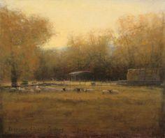 Michael Workman Evening-sheep-pasture