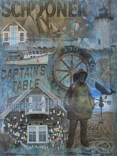 Captain's Table Graphic Art on Canvas