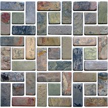 Check out this Daltile product: Indian Multicolor (S Pattern Natural Cleft) - Inspiring Ideas through Real Use.