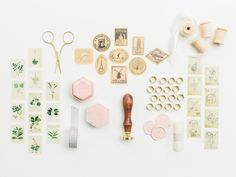 Wedding Invitation Flatlay Styling Kit for Photographers Engagement Gifts, Wedding Engagement, Wedding Day, Velvet Ring Box, Wooden Spools, Flatlay Styling, Wax Seal Stamp, Glue Dots, Vintage Stamps